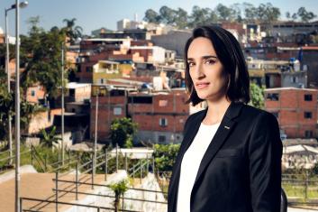 Maria Prata, apresentadora do Mundo SA, da GloboNews